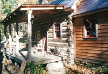 Part Five Of. Building Rustic Cabin - Handmade Houses