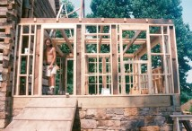 Stick-built And Timber-frame Combined - Handmade Houses
