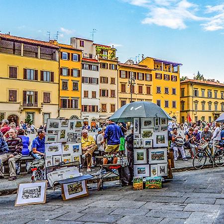Arranging a market