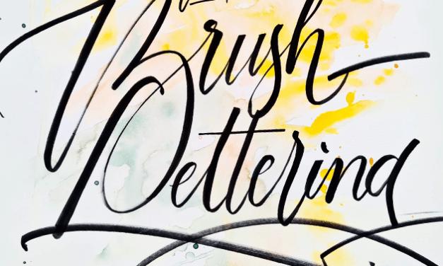 Brush Lettering Workshop with @julijascript