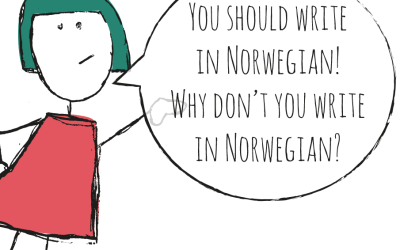 Why don't you write in norwegian?