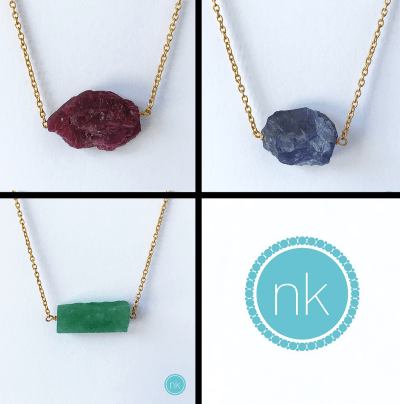 NK Jewellery necklaces