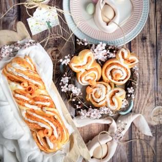Karotten-Cheesecake Brioche