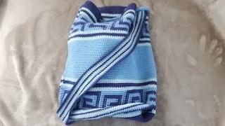 greek style cotton bag