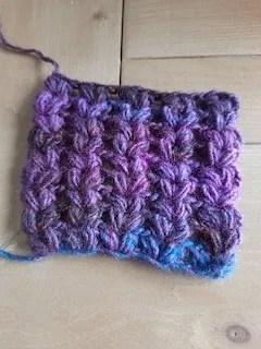 proeflapje bohemian shawl