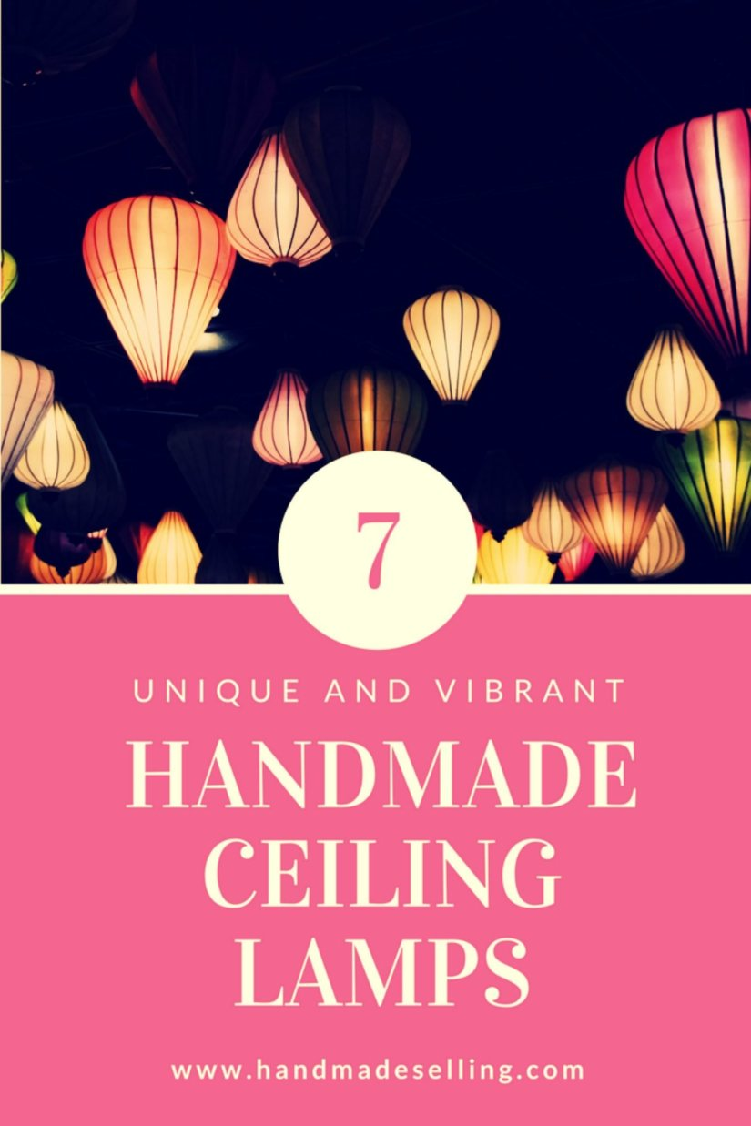 handmade ceiling lamps