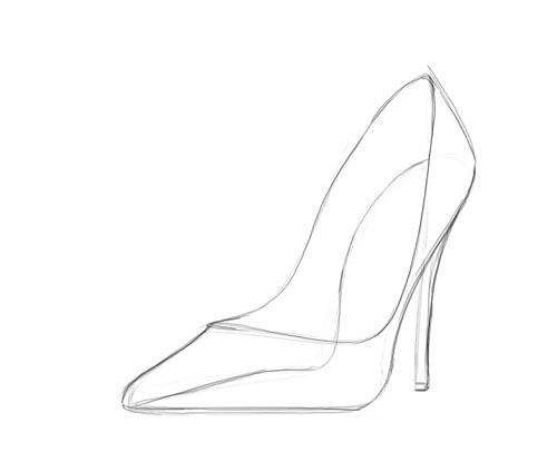 High Heel: High Heel Outline