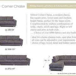 Small Modular Sectional Sofas Throw Covers For Sofa Milton Corner Large - Bott Handmade Ltd