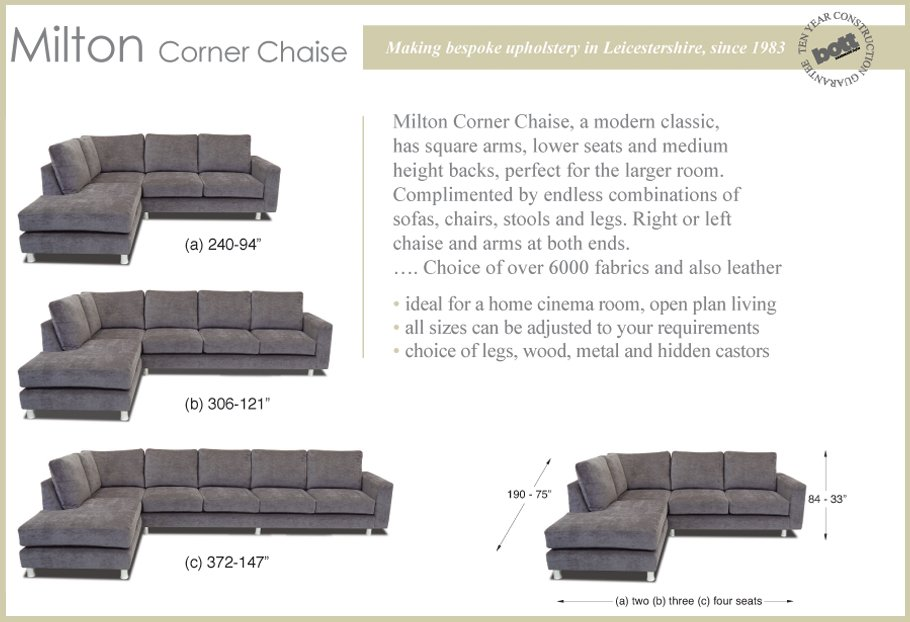 large square corner sofa sofas in dallas tx milton stool bott handmade ltd go to