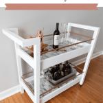 Diy Bar Cart Free Plans Handmade Weekly