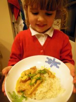 chicken curry with Elizabeth