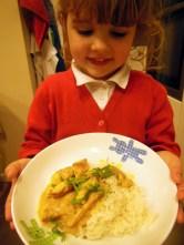 chicken curry with Elizabeth