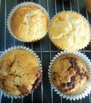 marbled muffins