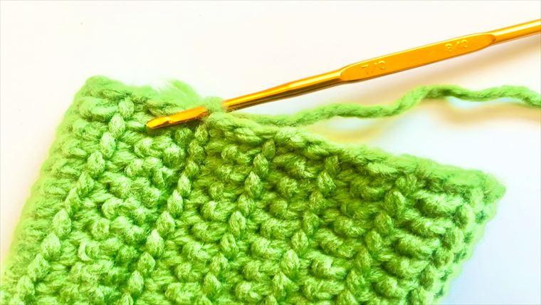 詳しい画像付きでよくわかる♪長編みの飾り編みの編み方