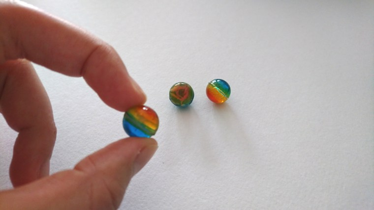 レジンでグラデーションの立体は?作り方は?球体についても