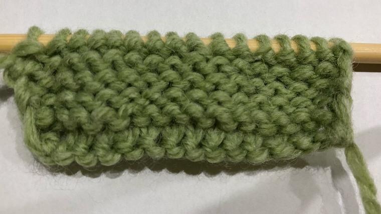裏目 編み方
