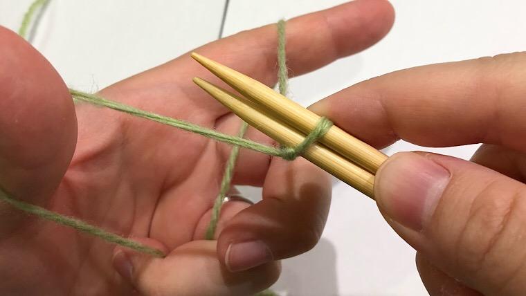 棒針 作り目