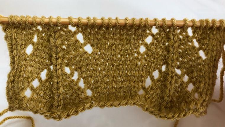 棒編み 編み方の種類 透かし編み