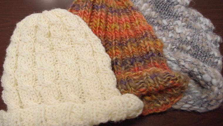 アレンジの編み方は?