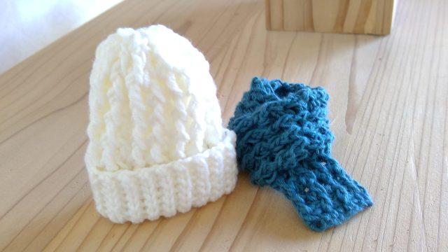 かぎ針編みのゴム編み☆編み図と編み方を写真画像で紹介!
