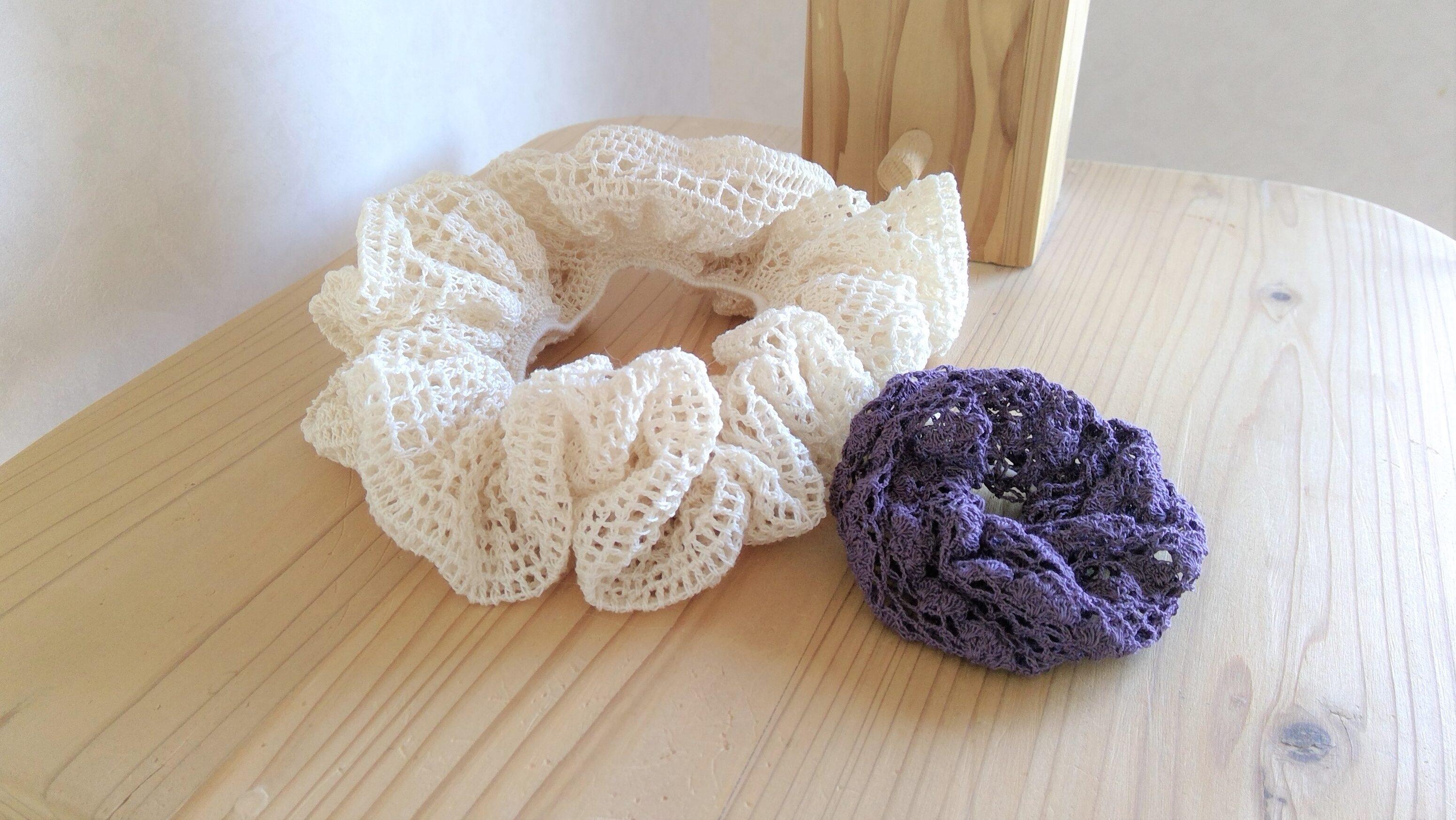 シュシュ かぎ針 編み 【編み物】初心者でも簡単♪かぎ針で編む可愛いシュシュの作り方6つ