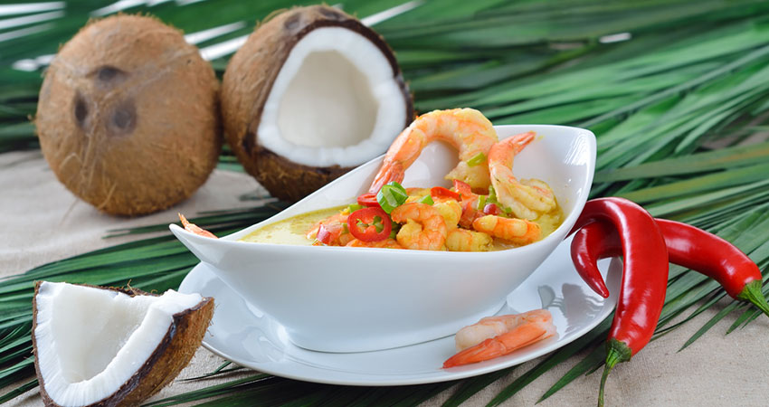Scrumptious No Hassle Coconut Curry