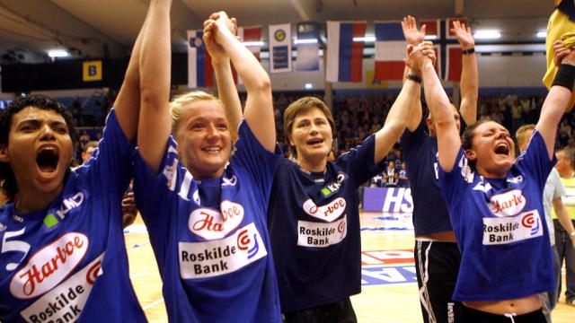 La belle époque est finie pour Slagelse, notamment ici avec Anja Andersen et Emiliya Turey