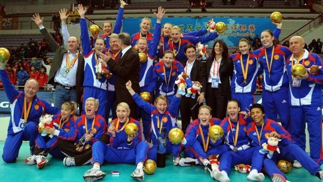 Dmitrieva - Russie championnat du monde 2009