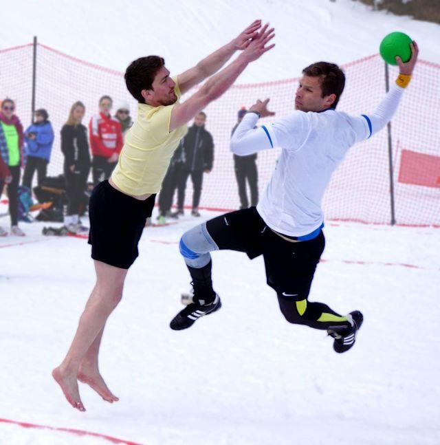 snowhandball