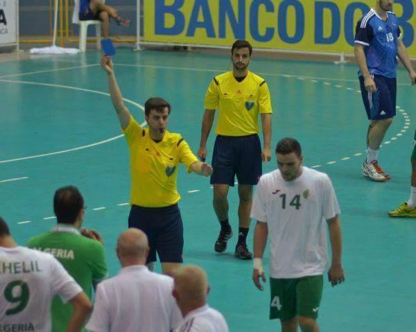Carte Bleue Handball.Ihf Le Carton Bleu Est Arrive Handnews