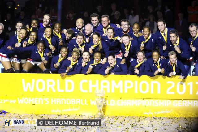 b882d626220a3 Prodigieux ! L'Équipe de France est devenue championne du monde ce soir  après sa victoire sur la Norvège (23-21). Une performance exceptionnelle  qui lui ...