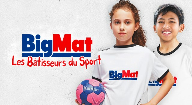 BigMat et la Centrale du Sport s'associent pour vous sponsoriser!