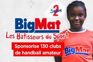 Thierry Omeyer parrain officiel de l'opération des Bâtisseurs du Sport Bigmat