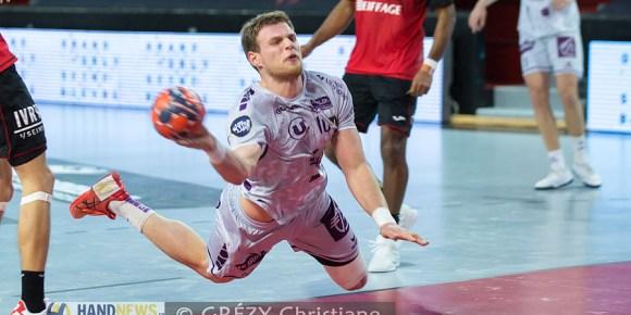 Vidéo   Le but dans le dos de Dragan Pechmalbec face à Veszprem