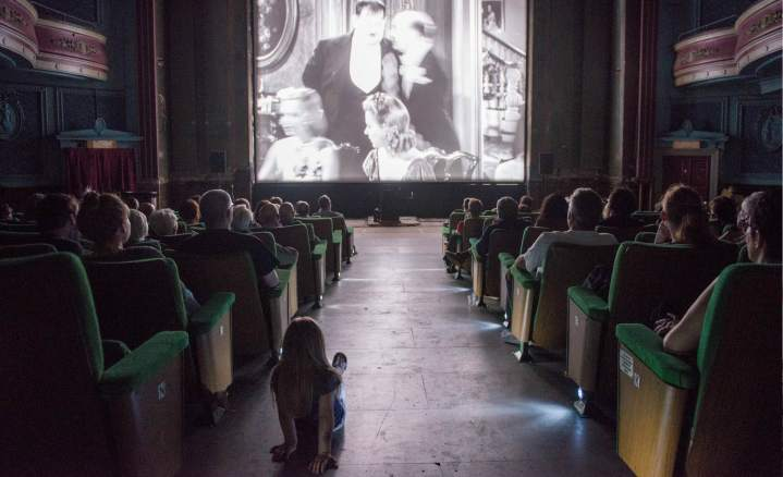 Full House Silent Movie Screening