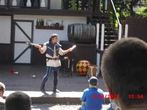 One of my favorite shows at the Faire, Pablo the performer.