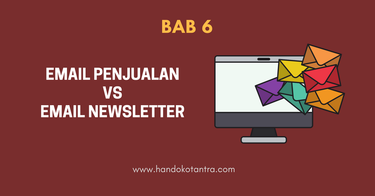 Email Penjualan Vs Email Newsletter