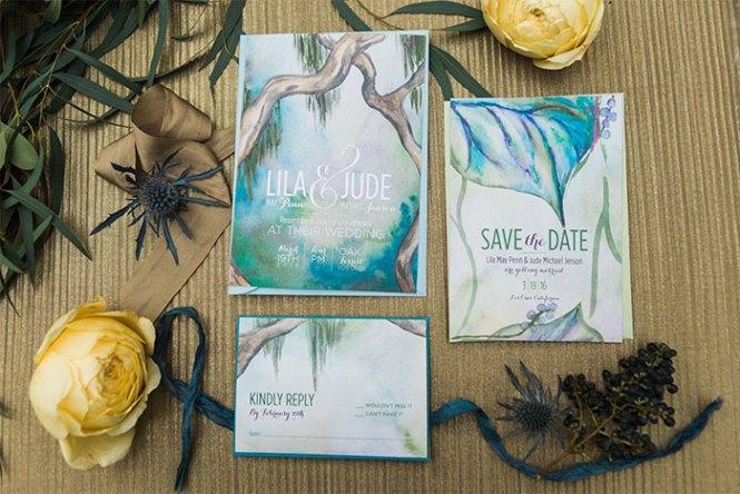 Mystical Forest Wedding Invitation