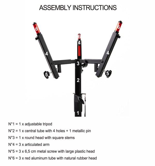 Handpan stand details