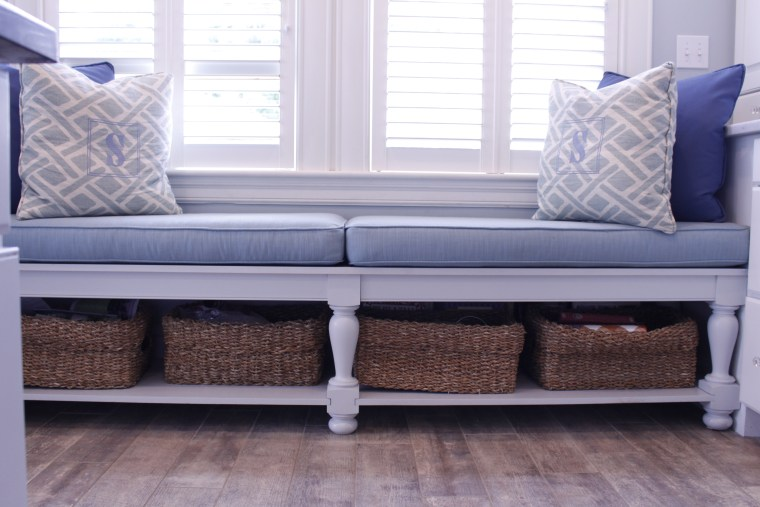 Personalize your custom seating area with colors and textures to finish the space