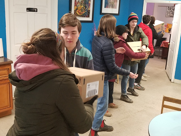 Pennsylvania youth group joins Hands and Feet initiative in Baltimore