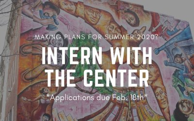 Intern with The Center Baltimore in Summer 2020