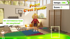 Pass: Science museum kineckt game. more infos: pass.be