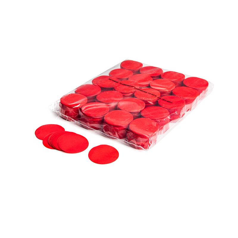 Schritt 2: MINI – Slowfall FX Konfetti rund rot