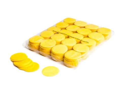 Slowfall FX Konfetti rund gelb