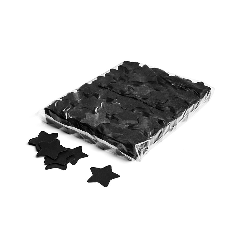 Schritt 2: GIGANT - Slowfall FX Konfetti Stern schwarz