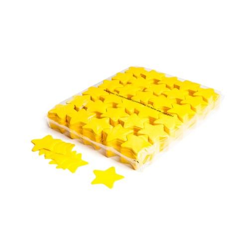 Schritt 2: GIGANT - Slowfall FX Konfetti Stern gelb