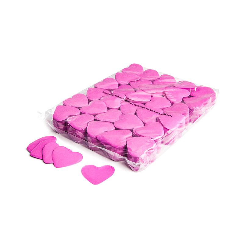 Schritt 2: GIGANT - Slowfall FX Konfetti Herz pink