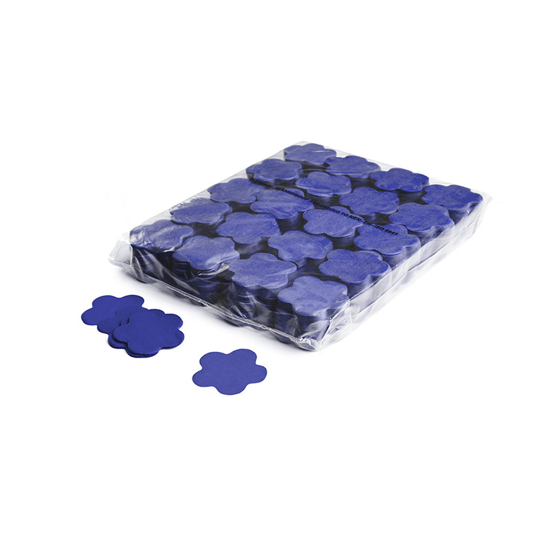 Schritt 2: GIGANT - Slowfall FX Konfetti Blume dunkelblau