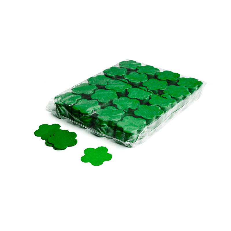 Schritt 2: GIGANT - Slowfall FX Konfetti Blume dunkelgrün